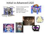 initial vs advanced ligo2