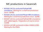mc productions in savannah2