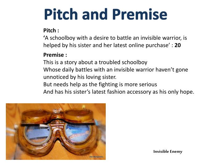 Pitch and Premise