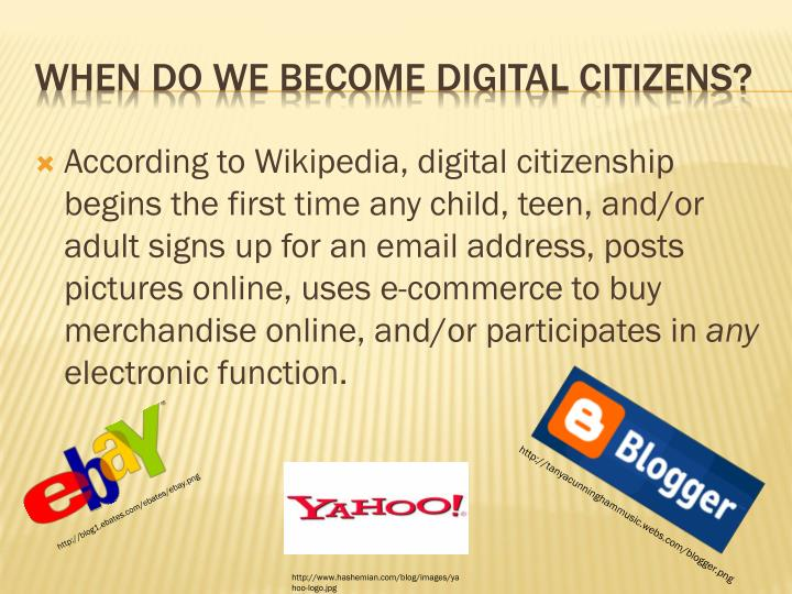 When do we become digital citizens