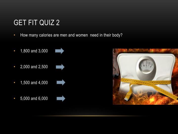 Get Fit Quiz 2