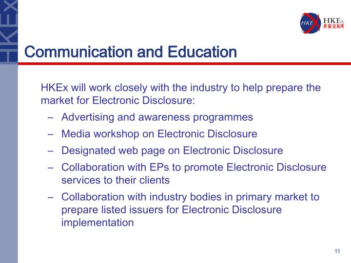 Communication and Education