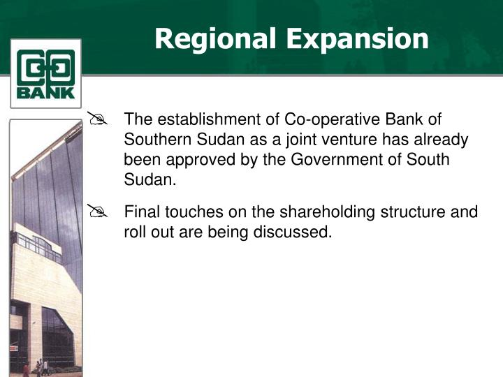 Regional Expansion
