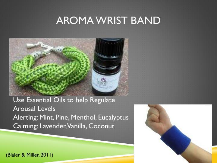Aroma Wrist Band