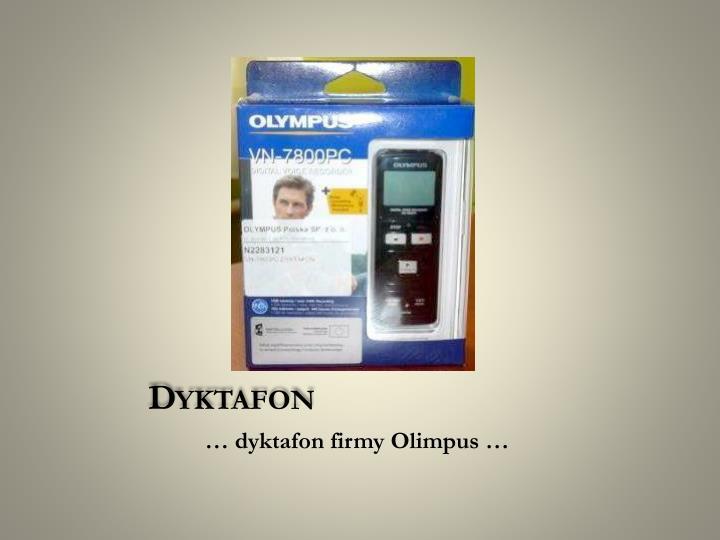Dyktafon