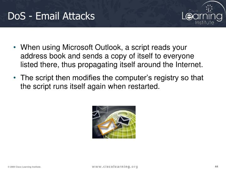 DoS - Email Attacks