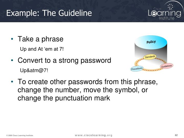 Example: The Guideline