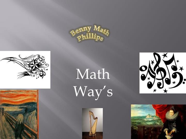 PPT - Math Way's PowerPoint Presentation, free download - ID ... Mathway Ed Account on
