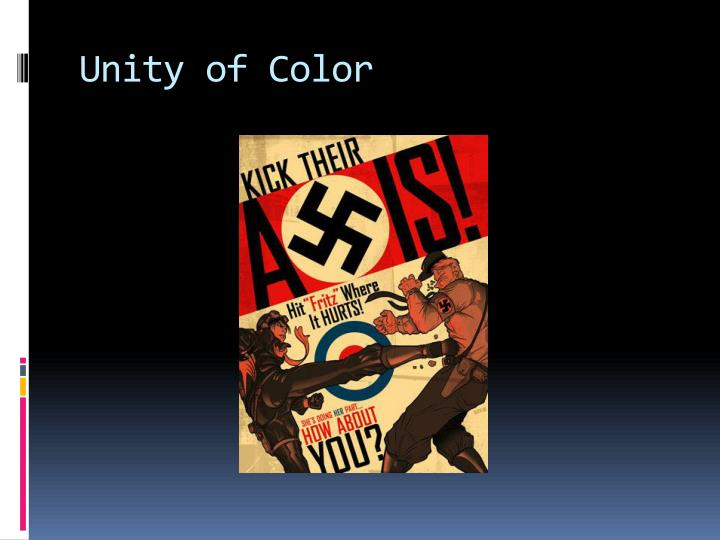 Unity of Color