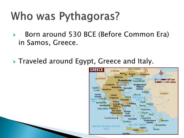 Who was pythagoras