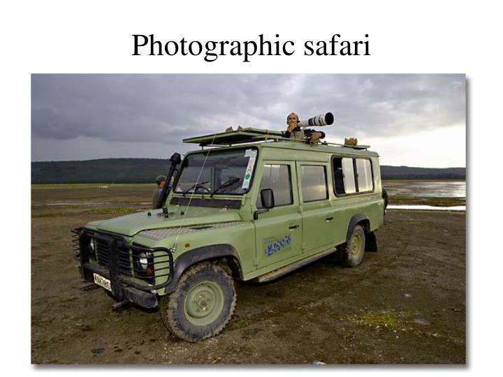 Photographic safari