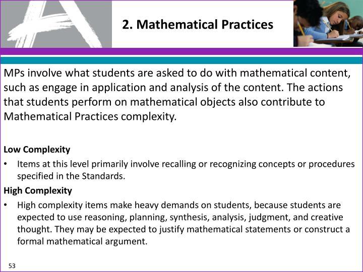 2. Mathematical