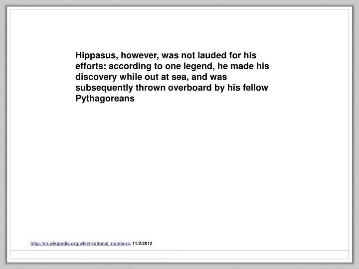 Hippasus
