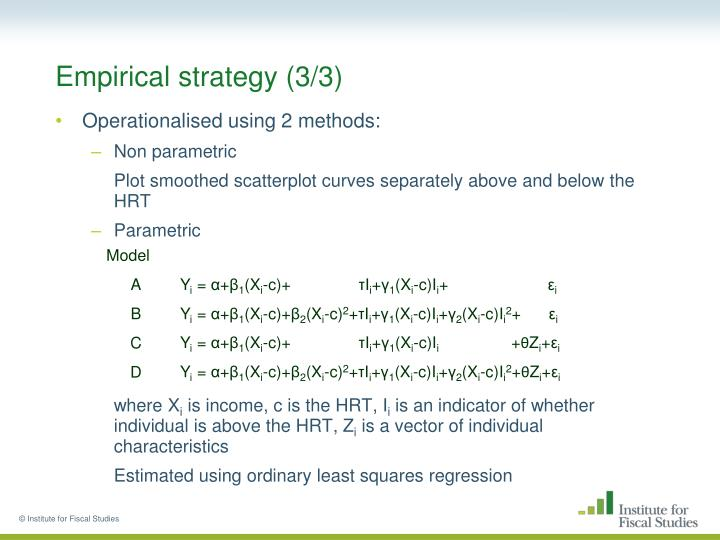 Empirical strategy (3/3)
