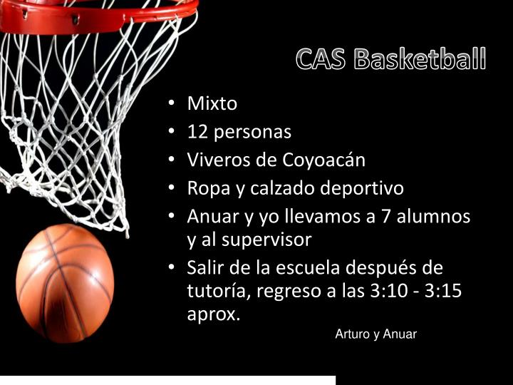 CAS Basketball
