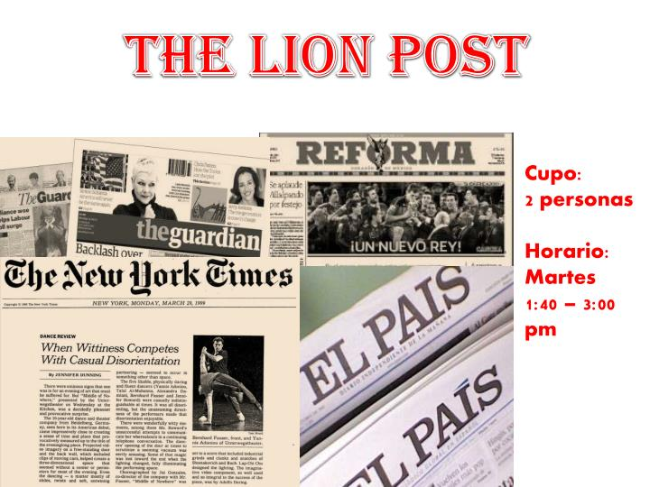THE LION POST