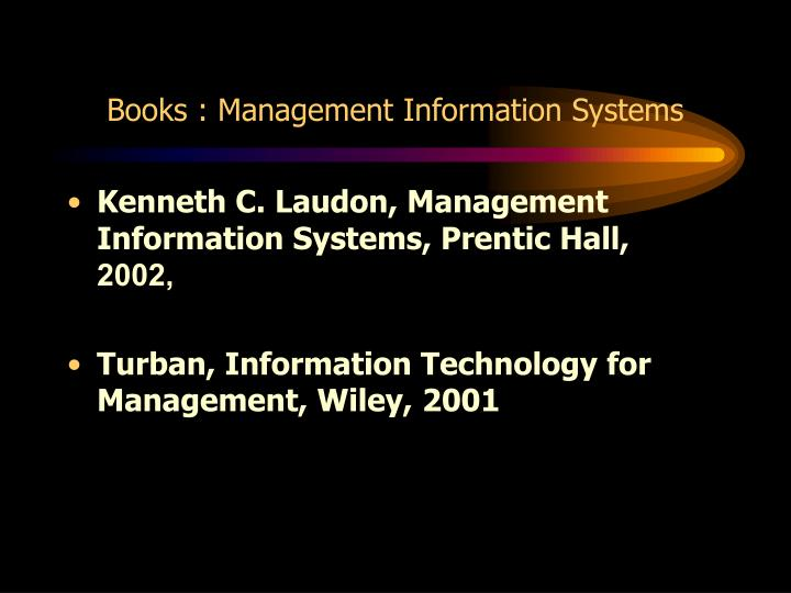 books management information systems n.