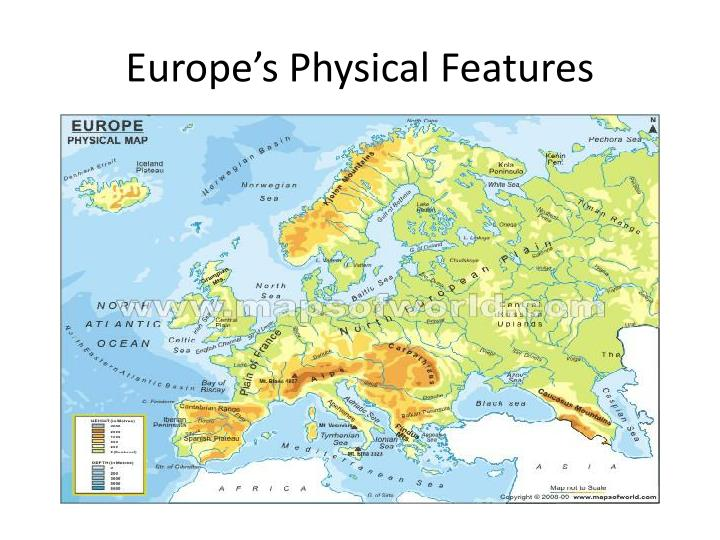 Europe's Physical Features