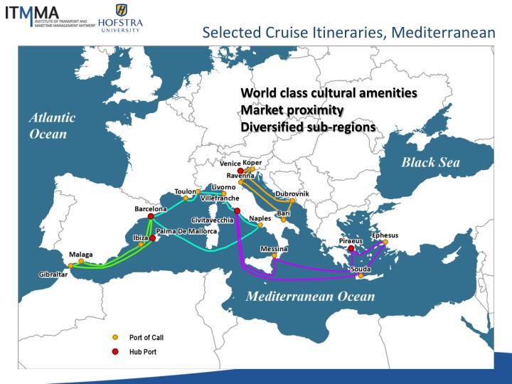 Selected Cruise Itineraries,