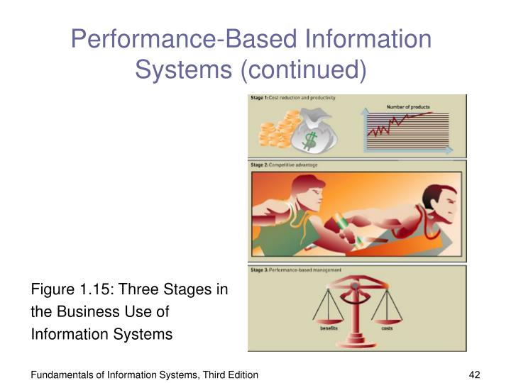 Performance-Based Information Systems (continued)