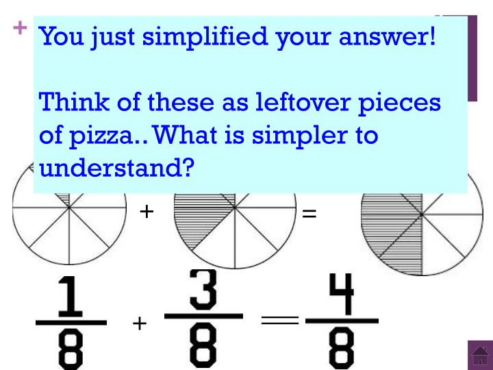 You just simplified your answer!