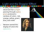 light and the doppler effect