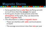 magnetic storms