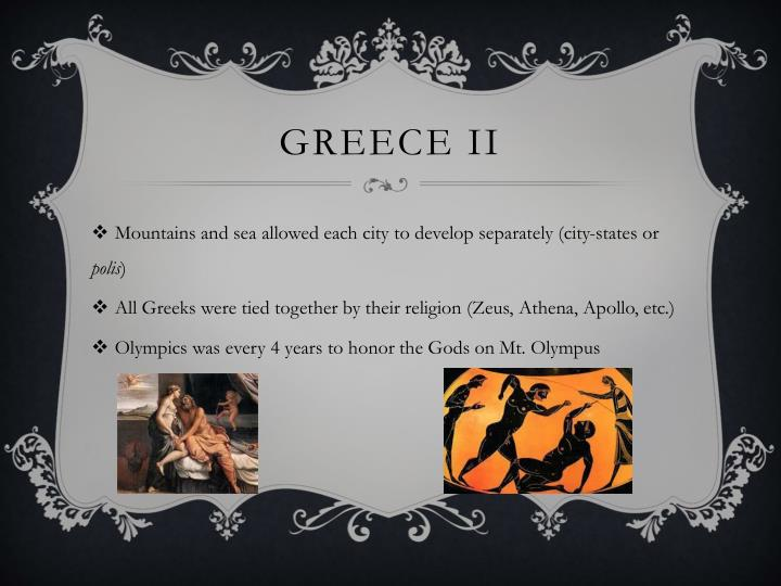 Greece ii