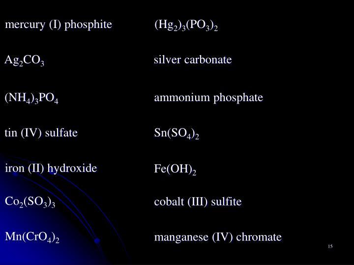 mercury (I) phosphite