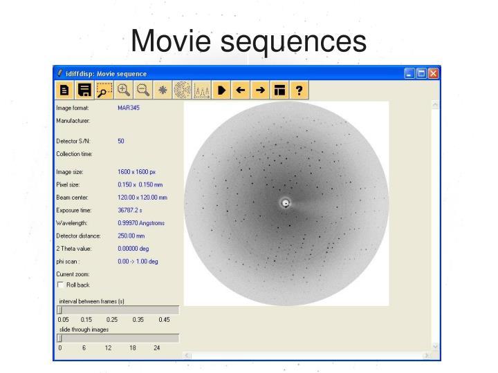 Movie sequences
