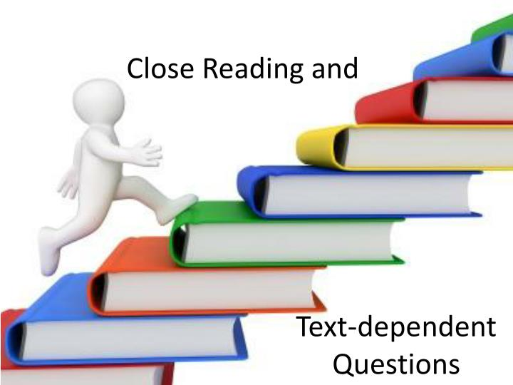 Close reading and