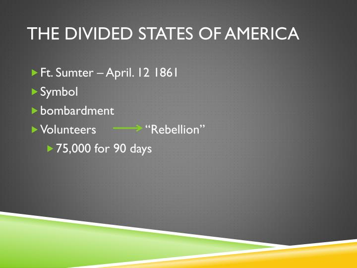 The divided states of america1