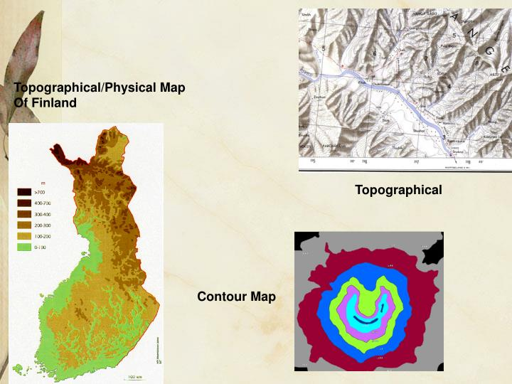 Topographical/Physical Map