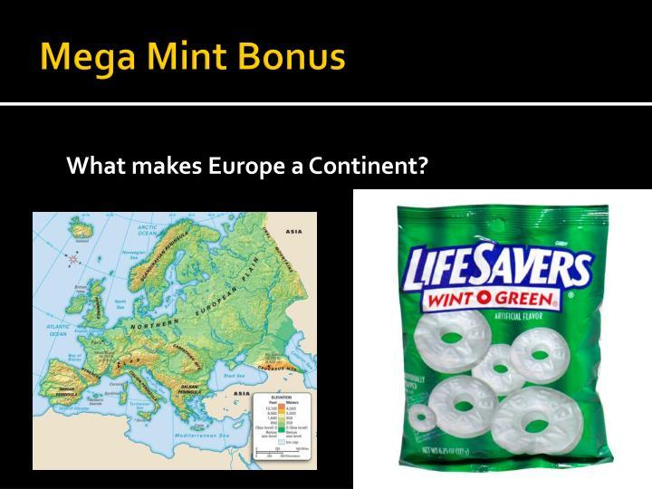 Mega Mint Bonus