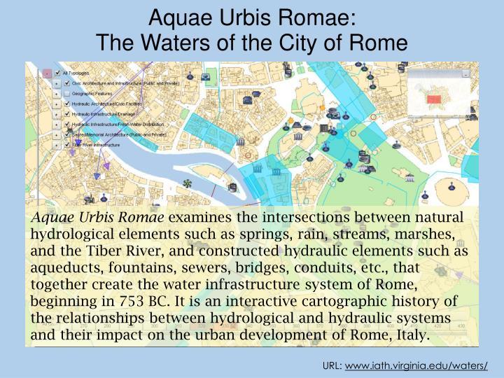 Aquae Urbis Romae: