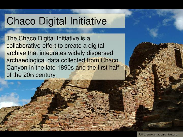 Chaco Digital Initiative