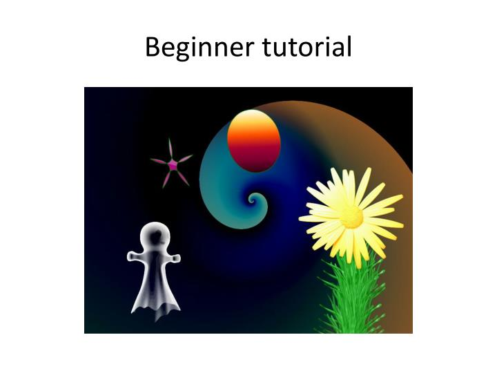 beginner tutorial n.