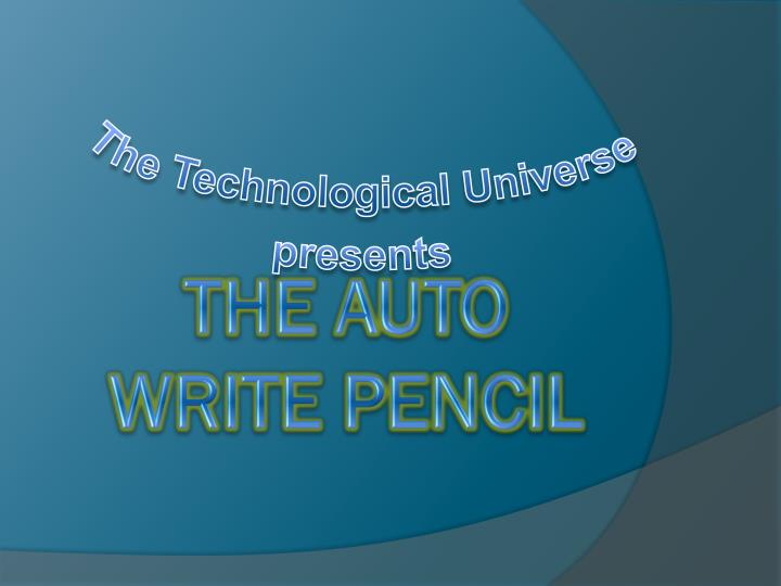 The technological universe presents