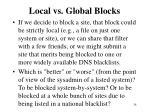 local vs global blocks