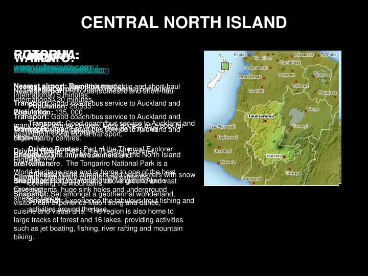 Central north island
