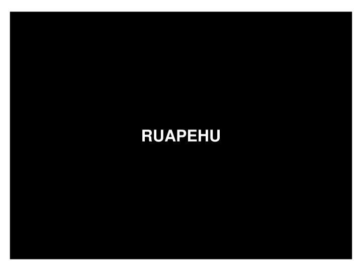 RUAPEHU
