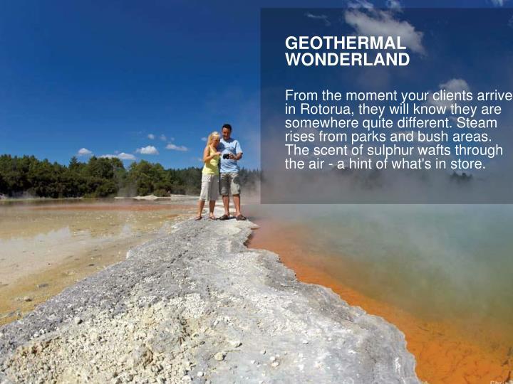 GEOTHERMAL WONDERLAND