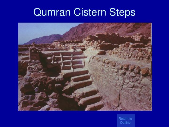 Qumran Cistern Steps