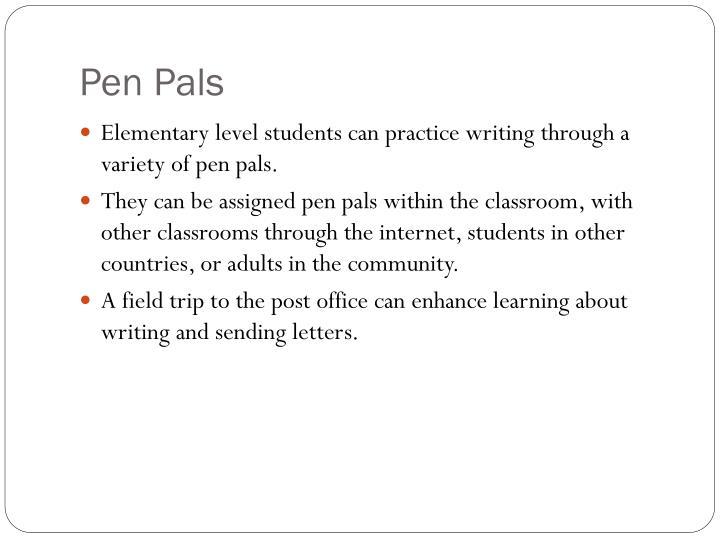 Pen pals1