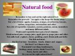 natural food2