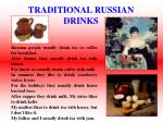 traditional russian drinks