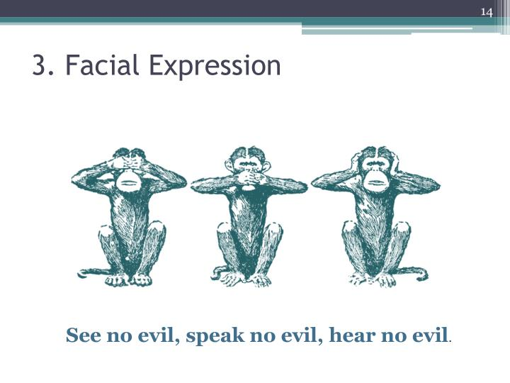 3. Facial Expression