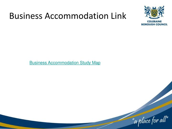 Business Accommodation Link