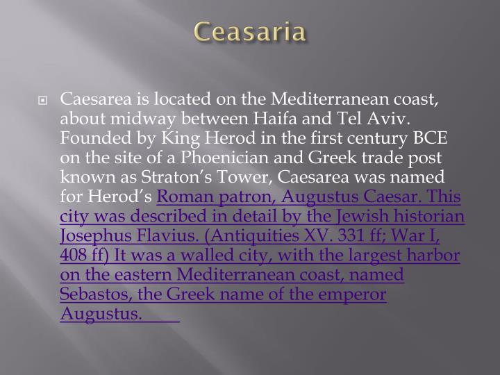 Ceasaria