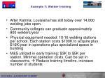 example 7 welder training